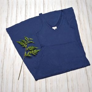 Lou & Grey Navy Blue Super Soft Maxi Dress
